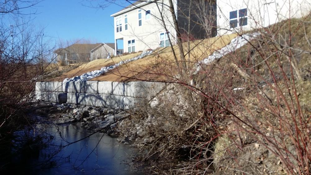 Erosion Undermining Trail